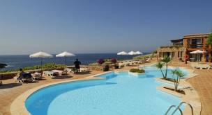 piscina con vistas al mar del Vanity Eden Binibeca Solo para adultos