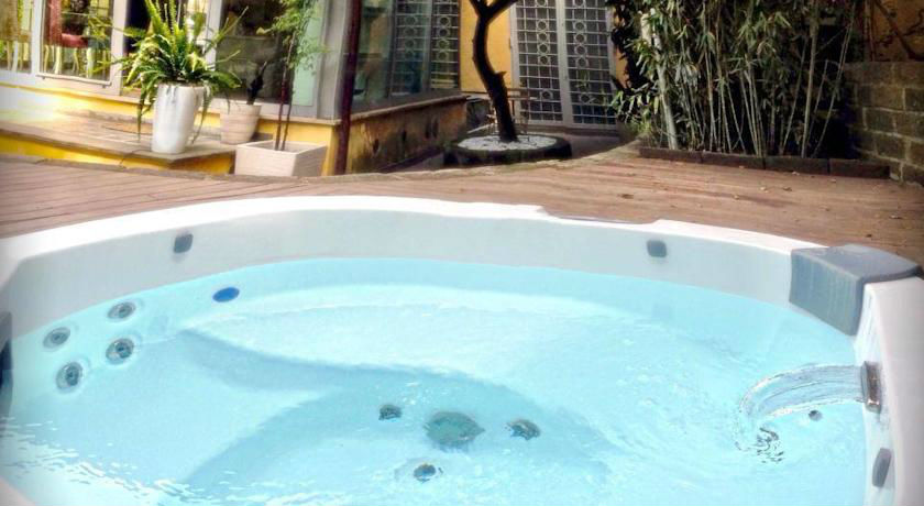 jacuzzi del hotel Relais Clivo Vaticano adults only